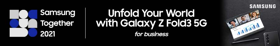 Samsung Together - Galaxy Z Fold3 5G for business